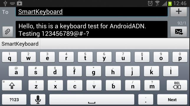 autotext smart keyboard pro