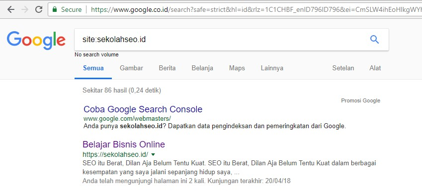 update algoritma google september 2018