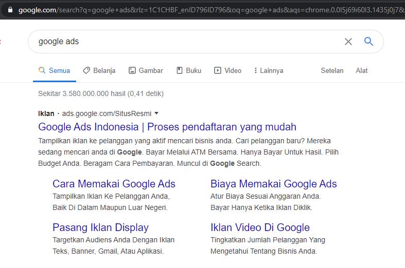 memulai beriklan via google ads