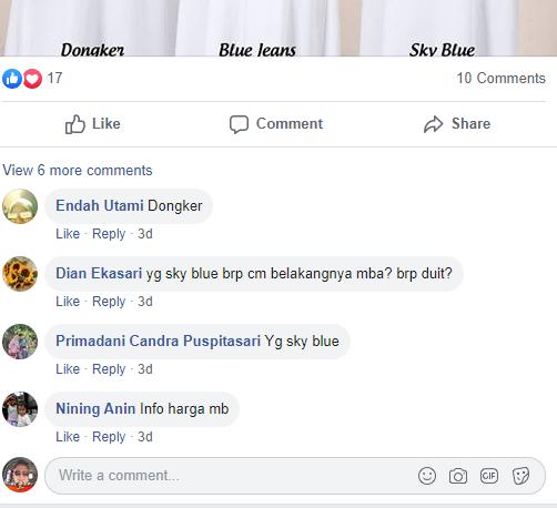 interaksi akun sosial media facebook